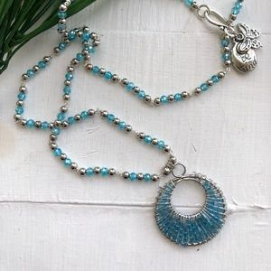 Jewelry - Mediterranean Sea Necklace 🌷